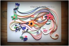 discovered quilling art. pandora's box has been opened.
