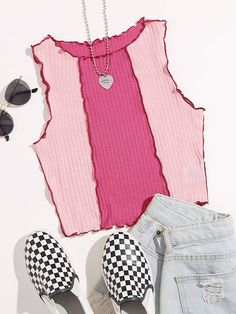 Cropped Tank Top, Crop Tank, Tank Tops, Classy Outfits, Cute Outfits, Vestidos Chiffon, Fashion News, Fashion Outfits, Latest T Shirt