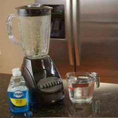 Easiest way ever to clean your blender. Ready. Set. Go.