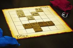 The Duke | Image | BoardGameGeek-Fantastic abstract game. One of my favs for abstracts now. Replaces chess for me.