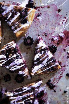 Blackberry Cinnamon Roll Cake  |  Bakers Royale