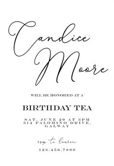Bold Bellisia - Birthday Invitation #invitations #printable #diy #template #birthday #party Free Birthday Invitations, Text Messages, Printable, Party, Diy, Bricolage, Text Messaging, Parties, Do It Yourself