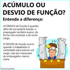 FG Advocacia:   Para que se configure acúmulo de função é necess...