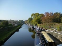 The Calder and Hebble Navigation Canal near Battyeford, Mirfield.