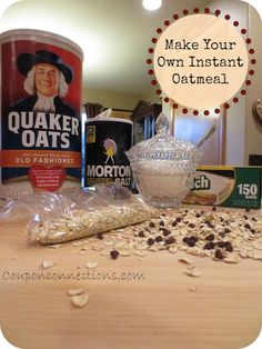 Ginger nuts are a favorite store bought biscuit in most parts of the duh moment worth pinning just for the reminder diy instant oatmeal packets solutioingenieria Gallery
