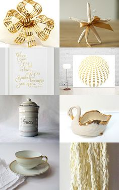 Beauty of Gold by Créations Olfée - Annie on Etsy--Pinned with TreasuryPin.com