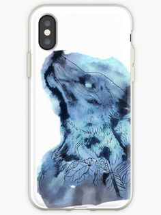 Mystischer wolf in den Wolken • Also buy this artwork on phone cases, apparel, stickers und more.