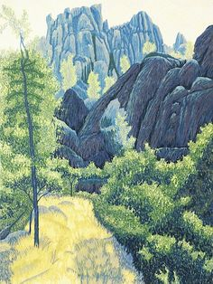 Gordon Mortensen : Pinnacles, 1985