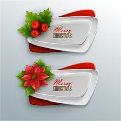 Vector christmas banners illustration set 04 - https://gooloc.com/vector-christmas-banners-illustration-set-04/?utm_source=PN&utm_medium=gooloc77%40gmail.com&utm_campaign=SNAP%2Bfrom%2BGooLoc