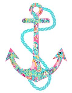 anchor + lilly pulitzer = loove