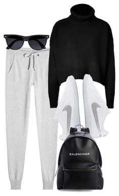 Am besten, wie man Hoodies trägt Dress Ideas - Стиль одежды - Outfit Lazy Day Outfits, Sporty Outfits, Outfits For Teens, Chic Outfits, Trendy Outfits, Winter Outfits, Fashion Outfits, Edgy School Outfits, Polyvore Outfits Casual