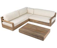 Diy Furniture Couch, Diy Sofa, Modern Furniture, L Shaped Sofa Designs, Wooden Pallet Table, Pinterest Room Decor, Wooden Sofa Designs, Simple Sofa, Bedroom Bed Design
