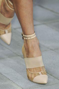 sexy transparent heels