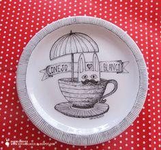 Sofia Polacco: Porcelana pintada a mano