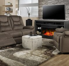 Living Room Furniture The Liane Collection Power Reclining Sofa