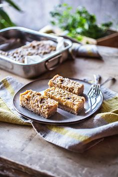 Vegan Pumpkin Squares from Back to the Cutting Board - Chic Vegan