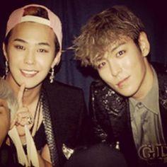 G-Dragon and T.O.P <3