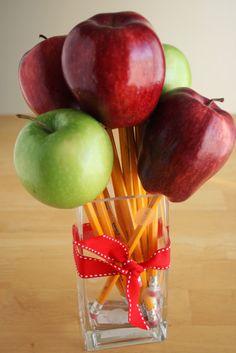 apple bouquet