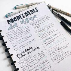 Bullet Journal School, Keeping A Bullet Journal, Bullet Journal Notes, Bullet Journal Ideas Pages, Art Journal Pages, Cute Notes, Pretty Notes, Class Notes, School Notes