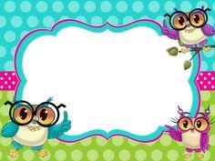 School Border, Owl Theme Classroom, Boarder Designs, Boarders And Frames, School Frame, Kids Background, School Labels, Framed Wallpaper, Birthday Frames