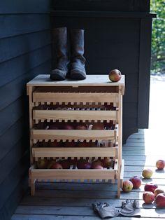 Five Drawer Apple Rack