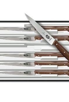 Victorinox-4-34-Inch-Wavy-Edge-Spear-Tip-Steak-Knife-Set-of-6-Rosewood-Handles-0