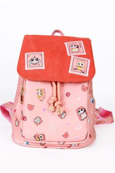 Pink Umaru-chan Anime Backpack