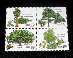 postage stampstrees - Google Search