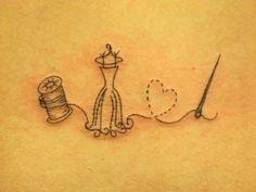 So pretty- sewing tattoo