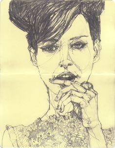 sketchbook - part 3 by deanna staffo, via Behance