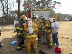 Supporting Volunteer Fire Fighters