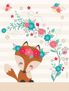 fox in the garden - Kleiner Fuchs im Garten – Little fox in the garden – the - fox in the garden - Kleiner Fuchs im Garten – Little fox in the garden – the - Apenas algumas coisas que encontro na internet e gostaria de comparti… Humor amr. Fuchs Illustration, Vintage Illustration, Woodland Creatures, Woodland Animals, Cute Images, Cute Pictures, Nursery Art, Cute Drawings, Cute Wallpapers