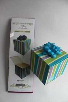 Suaje Jumbo de Caja tipo Cubo. Compatible con Big Shot. FB berrysweet monterrey.