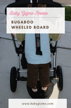Bugaboo Wheeled Board Bugaboo, Everything Baby, Baby Gear, Baby Strollers, Car Seats, Boards, Baby Prams, Planks, Strollers