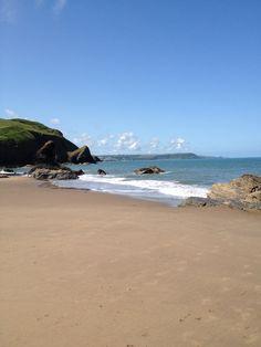 Wales, Llangrannog, Cardigan Bay
