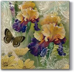 Magic Spring Our decoupage paper napkins are of high quality 3-ply paper printed with stay-fast colors, which makes them ideal for decoupage paper, as the colors will not smear or bleed. Napkin decoupage and furniture restoration are two wonderful DIY activities which these paper napkins are ideal for. Our paper napkins are all food-grade and biodegradable and environmentally friendly, produced without chlorine bleaching printed in Europe What can you decorate with découpage? Pictures can be…