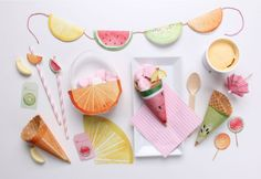 Print Your Own Fruity Party | Little Gatherer