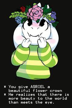 Asriel n_n yo te la doy como muestra de mi amistada !