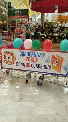 Recibimos donaciones en 2016 de la comunidad chihuahuense que asistía al supermercado