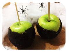 Garfo Publicitário | Blog de Gastronomia e Culinária: Maça do Amor de Halloween