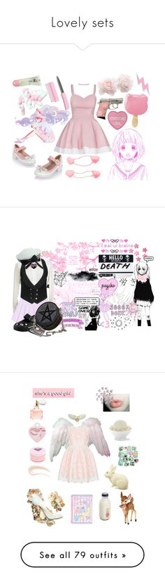 """Lovely sets"" by snowinoctober ❤ liked on Polyvore featuring Topshop, women's clothing, women, female, woman, misses, juniors, Georg Jensen, Zwilling J.A. Henckels and Marc by Marc Jacobs"