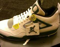 White Air Jordan 4 'Oregon Ducks'