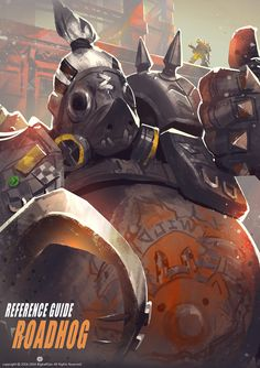 Roadhog - Overwatch fan art by Bigball Gao More from this... #LoveArt - #Art #LoveArt http://wp.me/p6qjkV-dvg
