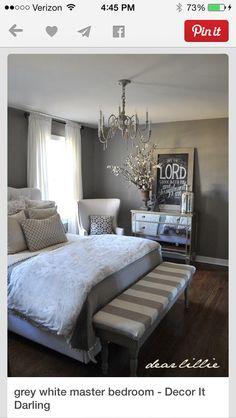 My favorite gray bedroom