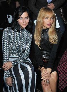 #PFW day 5: Leigh Lezark and Rachel Zoe front row at Viktor & Rolf