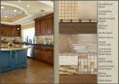 Tile Color palette choices for the Southern Living home: Emser Tile - Coordinates Traditional