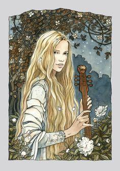 dril, by Līga Kļaviņa Idril was a noldo elf, daughter of Turgon, King of Gondolin; she wedded Ulmo's messenger Tuor, a mortal man, and their son was Eärendil the Mariner. ( Tolkien )