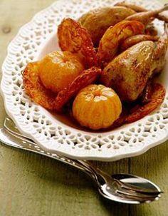 Amours de cailles aux mandarines, déjà fait plusieurs fois, c'est délicieux