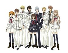 Vampire knight~ A really great  anime when will be the 3rd season produced :'(
