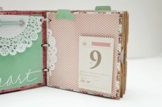 Valentine's Paper Bag Mini Album | Jaime Warren